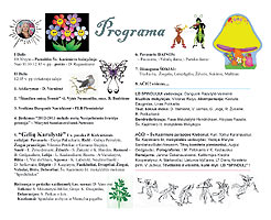 2013 Jaunimo Svente - Youth Festival - programa-program  content