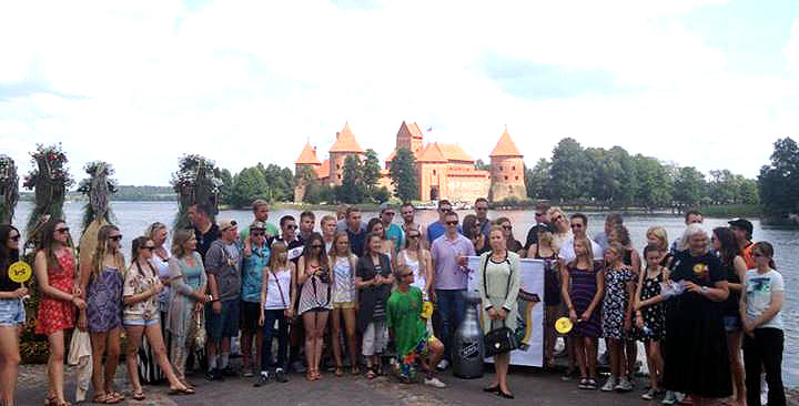 Spindulys at Trakai 2014 group shot