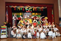 Saules dukrytes dancing Leliu Soki - 56th Annual Blynu Balius Pancake Ball by Los Angeles Spindulys