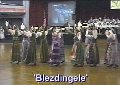 Blezdingele - women's dance