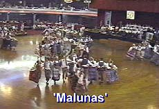Malunas - the 'Windmill' Dance with  all groups participating